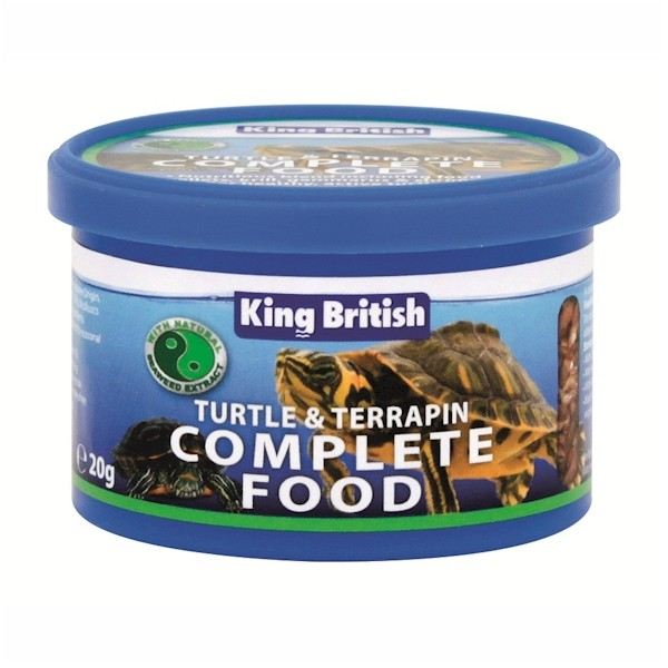 King British Turtle & Terrapin Food 20g