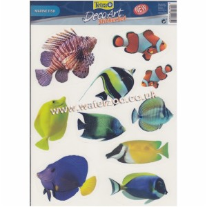 Tetra Decoart Sticker Set Marine Fish