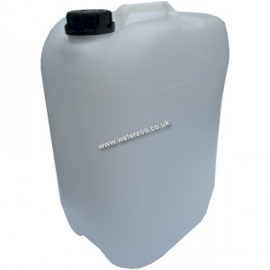 25 Litre Water Container Transluscent Non Returnable