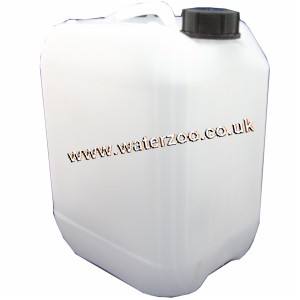 10 Litre Water Container Transluscent Non Returnable