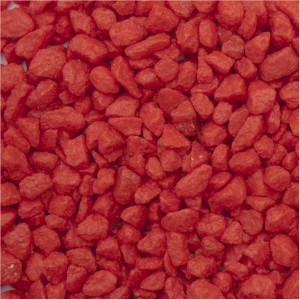 Coated Red Aquarium Gravel 2.5kg