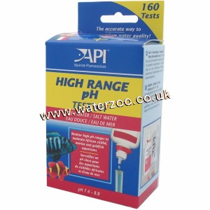 Api Liquid High Range Ph Test Kit 160 Tests