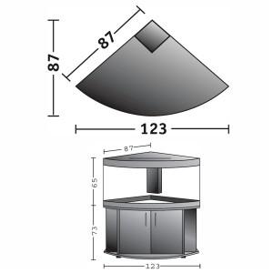 juwel trigon 350 cabinet black. Black Bedroom Furniture Sets. Home Design Ideas