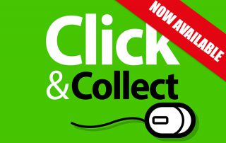 Click & Collect NOW AVAILABLE
